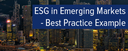 Topic of the month February 2015: ESG in emerging markets