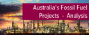 Topic of the month June 2015: Australia's Fossil Fuel Projects - Dead in the water?
