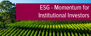 Topic of the month March 2017: Momentum for Institutional Investors  to pick up on Sustainable Investment