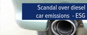 Topic of the month October 2015: VW Scandal and ESG
