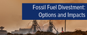 Topic of the month September 2016: Fossil Fuel Divestment